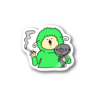 ひつじくんNo.1。 Stickers