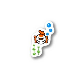 金魚ですが何か? Sticker