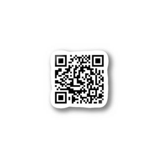 これはQRコードです Stickers