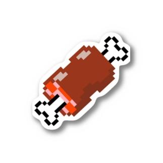 ドット絵マンガ肉 Stickers