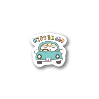 kids in car【キッズインカー】 Stickers