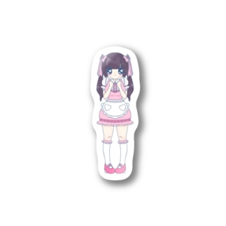 Maid de Familleの三女ちゃん / ステッカー Stickers