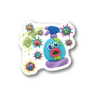 除菌サブリミナル Stickers