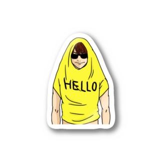 HELLO君 Stickers