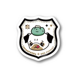 ロホホラわんわんワッペン Stickers