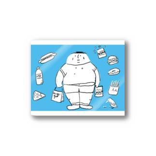 太っちょくん Stickers