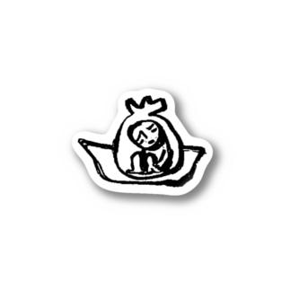 南京小僧(南京小僧ロゴ) Stickers