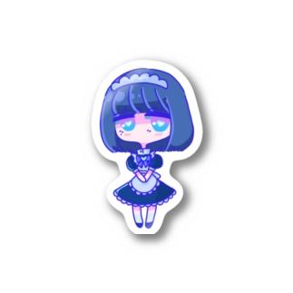 次女ちゃん/おすましステッカー Stickers