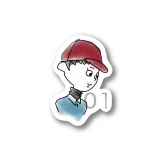 no.01 Stickers