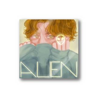 alienくん Stickers