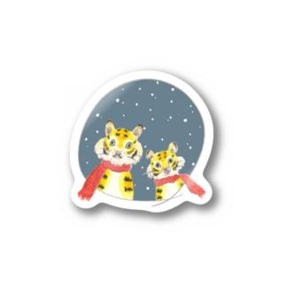 ぱぱとらことら Stickers