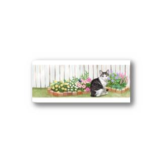 お庭のモネ Stickers