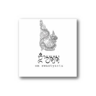 バリ島Omマントラ x 龍神 Stickers