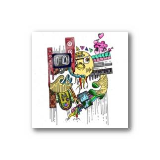 ヒヨコ(カラー) Stickers