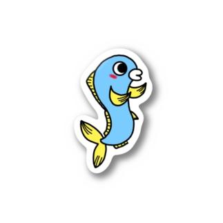 ペアルック 魚くん Stickers