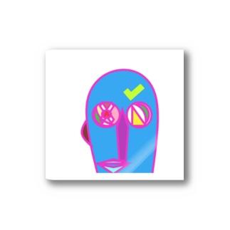 pikasun mouwai PINK Stickers