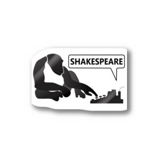 無限の猿定理[ステッカー] Stickers