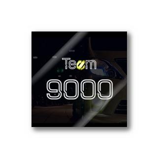 Team 9000 Stickers