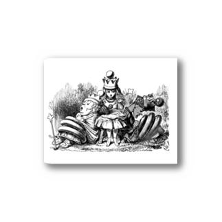 鏡の国のアリス 女王アリス Stickers