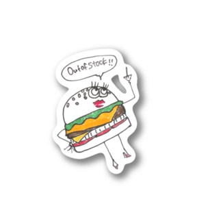 Out of stock  Stickers