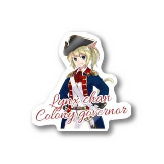 りんくすちゃん植民地総督B Stickers