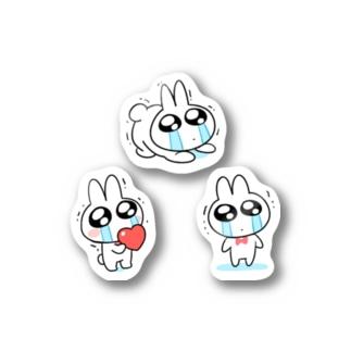 なきむしうさぎちゃん Stickers