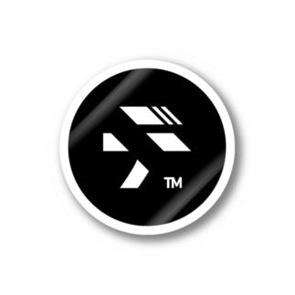 logo_black ステッカー