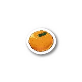 ドットステッカー「みかん」 Stickers