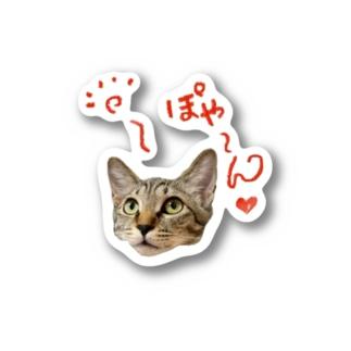 ぽやん子ちゃんシリーズ Stickers
