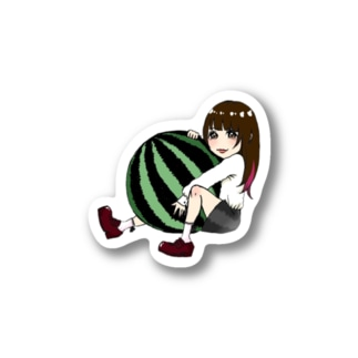 すいかちゃんグッズ Stickers