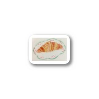 クロワッサンの朝食 Stickers