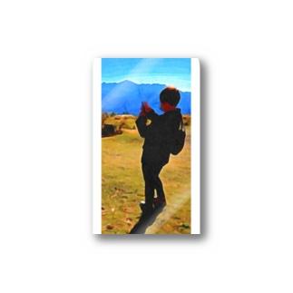 写真を撮る人 Stickers