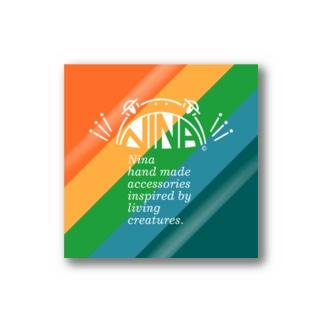 NINA LOGO Stickers
