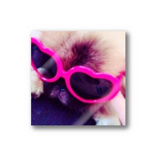 Apollo ハートのサングラス Stickers