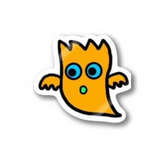 mogrus Goods shopのモグステッカー Stickers