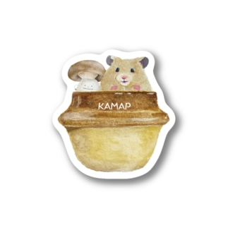 【KAMAP】しめじ君と一緒 Stickers
