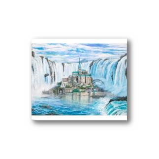 モンサンミッシェルinナイアガラの滝 Stickers