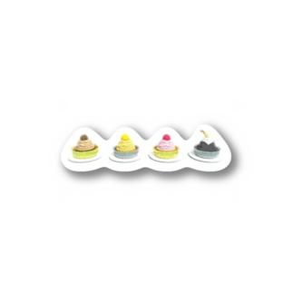 モンブラん Stickers