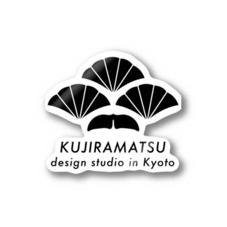 KUJIRAMATSU LOGO Stickers