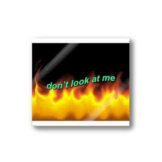 ☺︎ : don't look at me  Stickers
