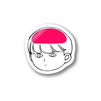 ブレイン Stickers
