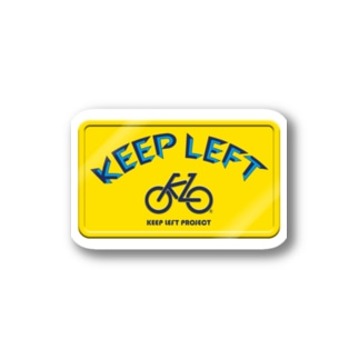KEEP LEFT-KLY Stickers