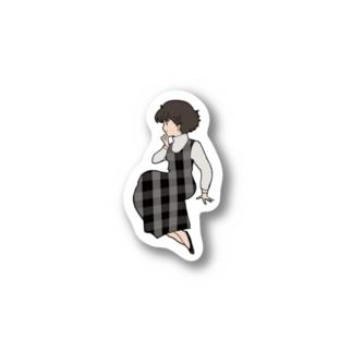 80's Girl ワンピースの彼女 Sticker