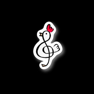 MEWのトリ音記号*一羽 Stickers