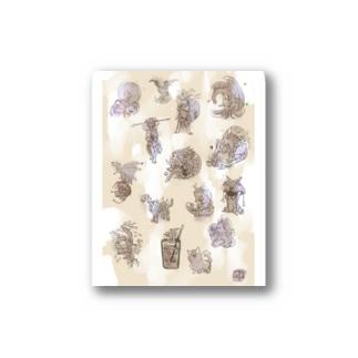 ふしぎな幻獣コレクション2 Stickers