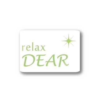 relaxDEAR Stickers