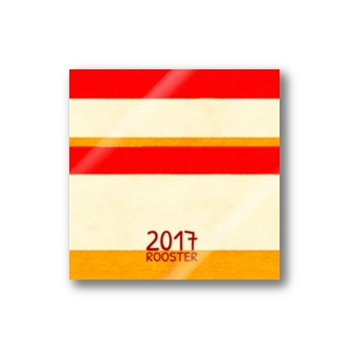 2017/Rooster Stickers