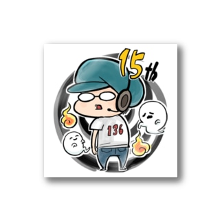 136-MH-15th Stickers