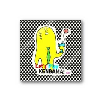 ヤサグレさん(けん玉中) Stickers