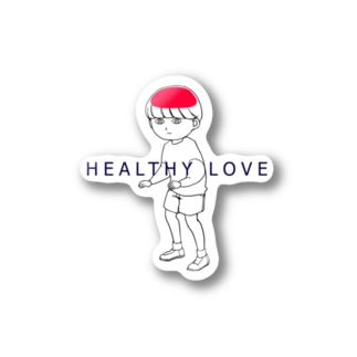 healthy Love(ブレイン) Stickers